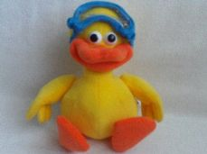 Adorable Big My 1st Talking 'Yabba Duck' Plush Toy